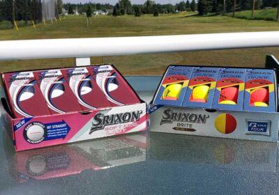 Sleeve of Golf Balls
